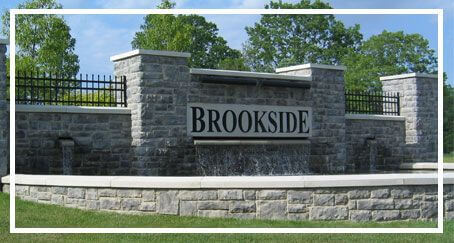 Brookside Neighborhood Sign
